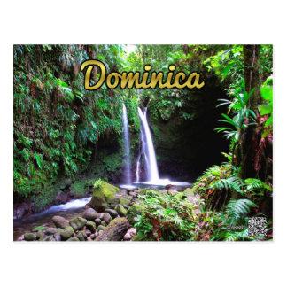 Dominica-Smaragd-Pool Postkarte