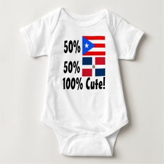 Dominikaner 100% 50% Puertorikaner-50% niedlich Baby Strampler