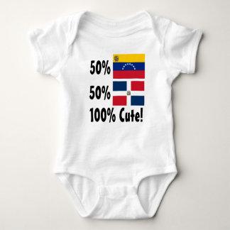 Dominikaner 100% 50% Venezolaner-50% niedlich Baby Strampler