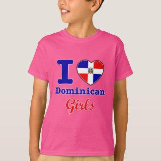 Dominikanische Entwürfe T-Shirt