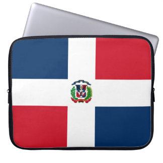 Dominikanische Flagge Laptop Sleeve