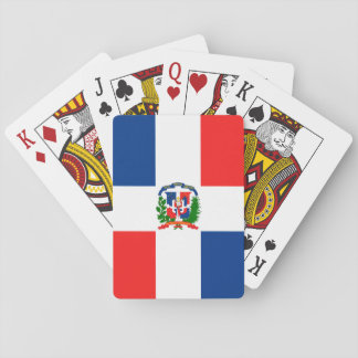 Dominikanische Flaggen-Spielkarten Spielkarten