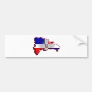 Dominikanische Republik Autoaufkleber