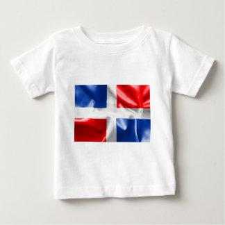 Dominikanische Republik-Flagge Baby T-shirt