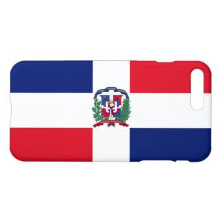 Dominikanische Republik-Flagge iPhone 8 Plus/7 Plus Hülle