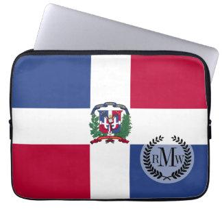 Dominikanische Republik-Flagge Laptop Sleeve