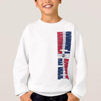 Dominikanische Republik-Flagge Sweatshirt