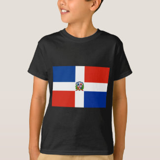 Dominikanische Republik-Flagge T-Shirt