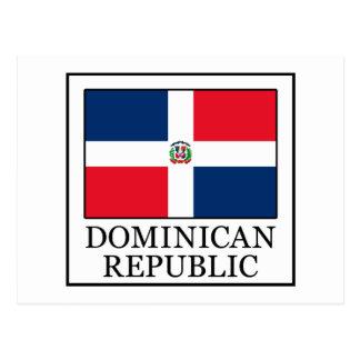 Dominikanische Republik Postkarte