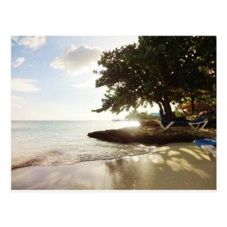 Dominikanische Republik Punta Canta Strand Postkarte