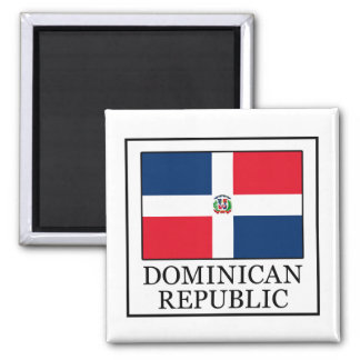 Dominikanische Republik Quadratischer Magnet
