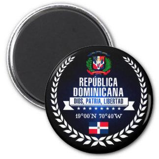 Dominikanische Republik Runder Magnet 5,1 Cm
