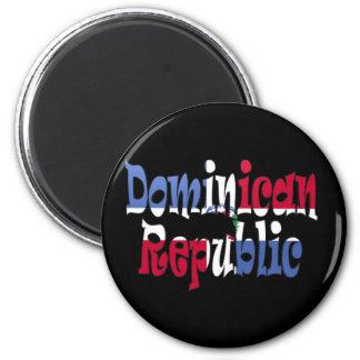 Dominikanische Republik Runder Magnet 5,7 Cm