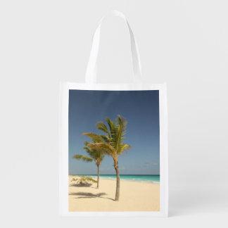 Dominikanische Republik-tropischer Strand Tragetaschen