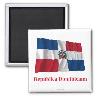 Dominikanische Republik-wellenartig bewegende Quadratischer Magnet