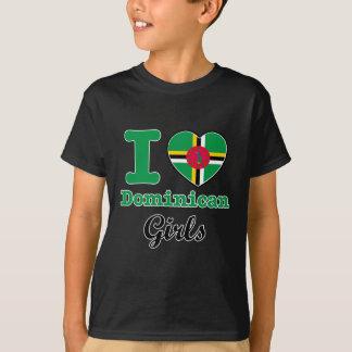 Dominikanischer Entwurf T-Shirt