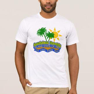 Dominikanischer Staat des SinnesShirts - wählen T-Shirt