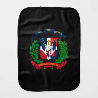 Dominikanisches Wappen Baby Spucktuch