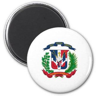 Dominikanisches Wappen Runder Magnet 5,1 Cm