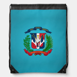Dominikanisches Wappen Sportbeutel