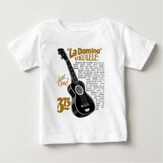 Domino Uke Anzeige Infanr heller kurzer Hülse T - Baby T-shirt