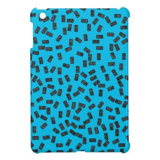 Dominos auf Blau iPad Mini Hülle