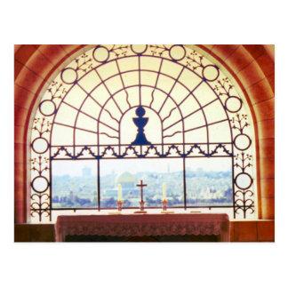 """""""Dominus Flevit"""" Kapelle, Jerusalem Postkarte"""