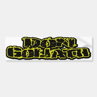 Don Goliath Autosticker