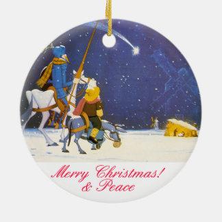 DON QUICHOTE - Adorno de Navidad Rundes Keramik Ornament