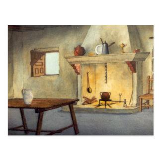 DON QUICHOTE Animation Background (1979) Postkarte