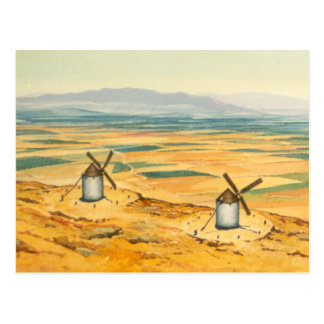 DON QUICHOTE - Animation Background (1979) Postkarten