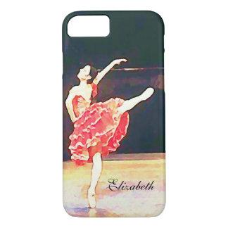 Don Quichote Ballett-Ballerina personalisiert iPhone 8/7 Hülle