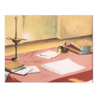 DON QUICHOTE Cartoonanimation Background (1979) Postkarte