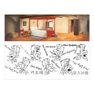 DON QUICHOTE Cartoonanimation Background (1979) Postkarten