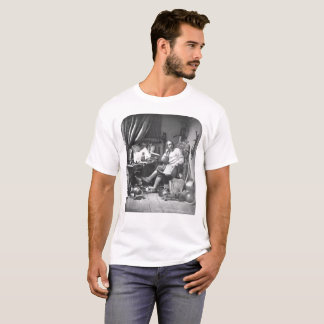 Don Quichote in seiner Studie T-Shirt