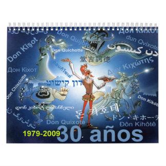 DON QUICHOTE - Kalender - Calendario