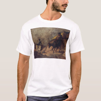 Don Quichote und Sancho Panza durch Honoré Daumier T-Shirt