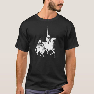 Don Quichote und Sancho Panza Shirt