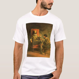 Don Quichote und Sancho Panza T-Shirt