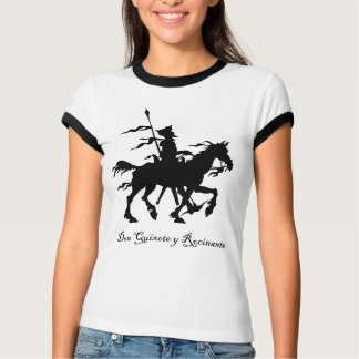 Don Quichote y Rocinante T-Shirt