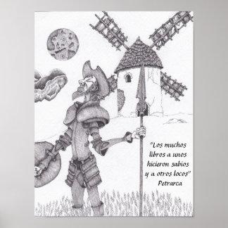 Don Quichotte La Mancha Von Poster