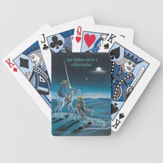 """DON QUIJOTE - durch Cervantes """"Que hablen cartas Spielkarten"""