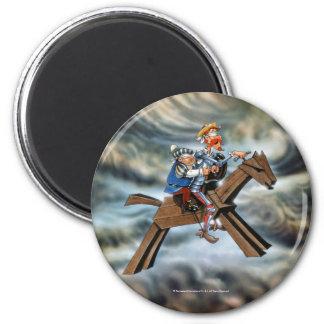 DON QUIJOTE - Magnet Runder Magnet 5,7 Cm