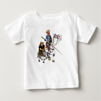 DON QUIJOTE, SANCHO, ROCINANTE- T - SHIRT Camiseta