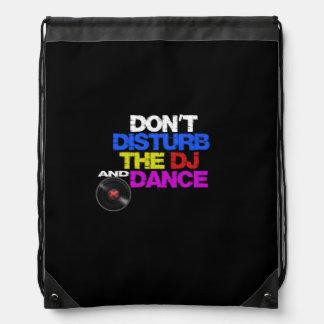 Don´t tanzt disturb the dj and sportbeutel