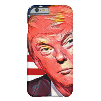 Donald auf Abdeckung Barely There iPhone 6 Hülle