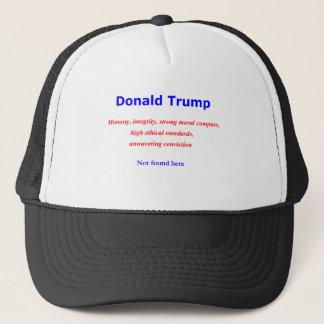 Donald-Integritätsehrlichkeit nicht hier gefunden Truckerkappe
