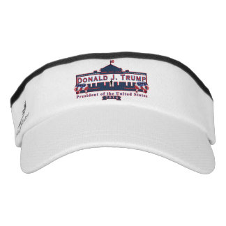Donald J. Trump - Präsident Red White Blue Visor