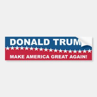 Donald Trump 2016 Autoaufkleber