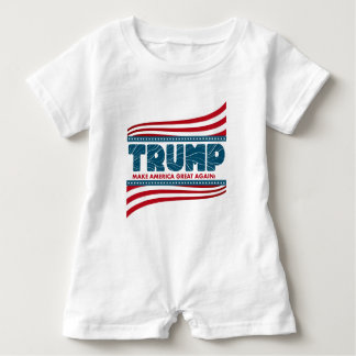 Donald Trump 2016 Baby Strampler